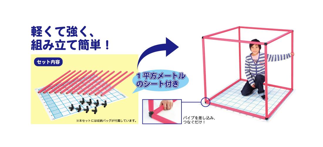 1立方メートル説明器